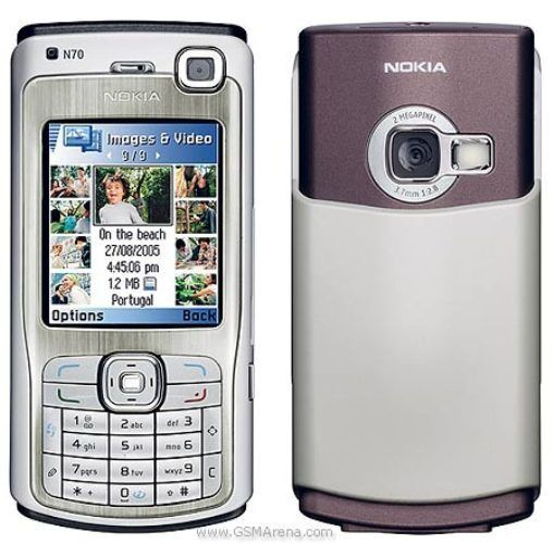 SIMPLE NOKIA N70 CHEAP 3G SMARTMOBILE PHONE-UNLOCKED WITH NEW CHARGAR & WARRANTY