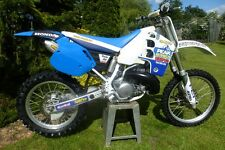 Honda CR125 CR250 CR500 Blue Peak Pro Circuit Side Panels Rear Fender mudguard
