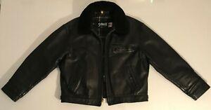 Veste Highwayman SCHOTT Modèle 630 Vintage 90's Taille US 46 / Taille EUR XL