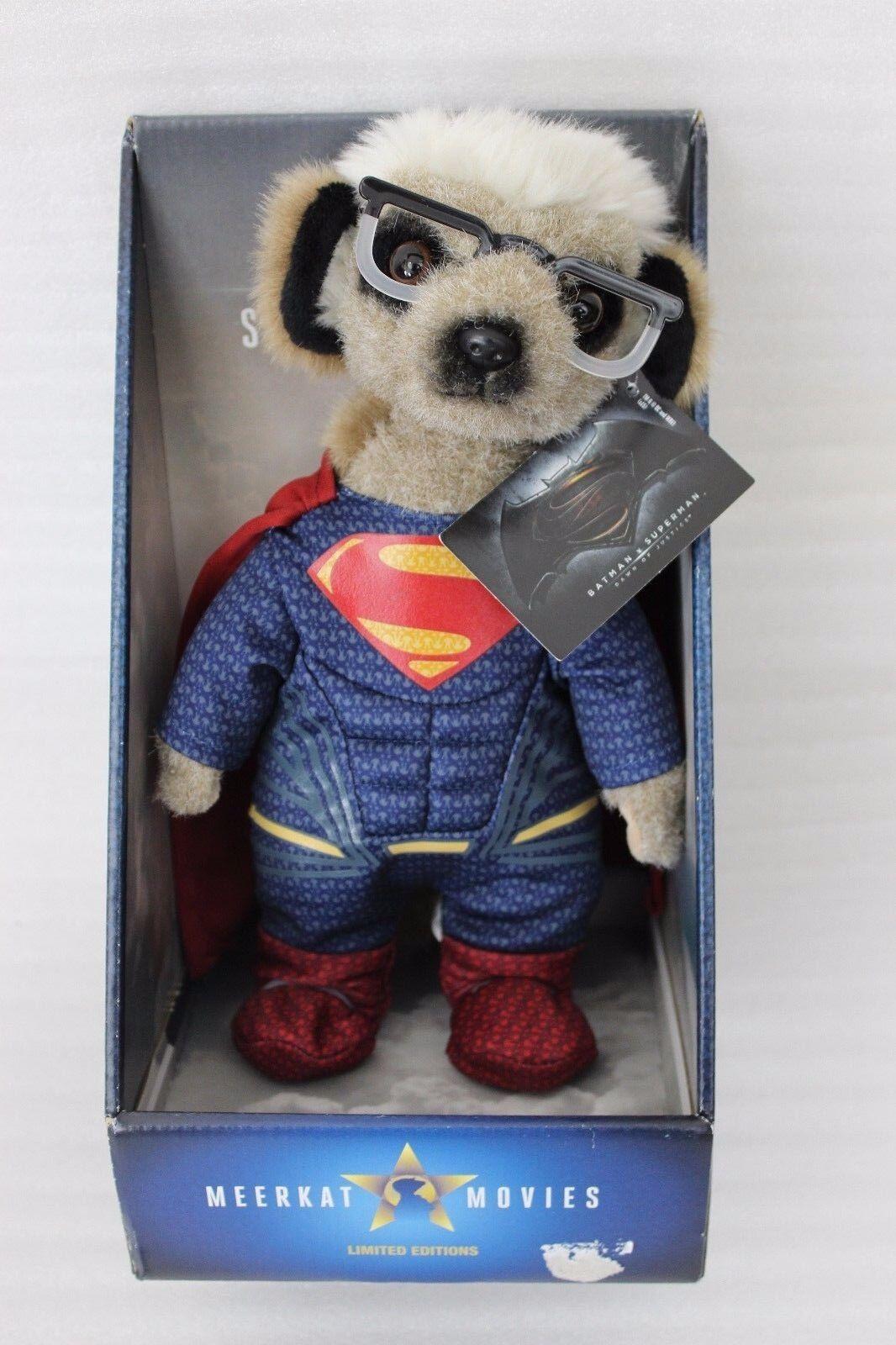 NEU Sergei as Superman Puppe meerkat movies movies movies Clark Kent Official 20cec0