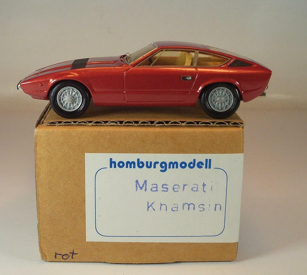 Homburgmodell 1/43 MASERATI KHAMSIN OVP  059