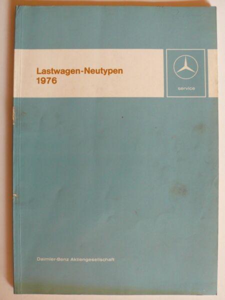 2019 Ultimo Disegno Mercedes-benz Camion-neutypen 1976 - 1013 Fino A 2232 L/6x4, 4.1976, 92 Pagine-ypen 1976 - 1013 Bis 2232 L/6x4, 4.1976, 92 Seiten