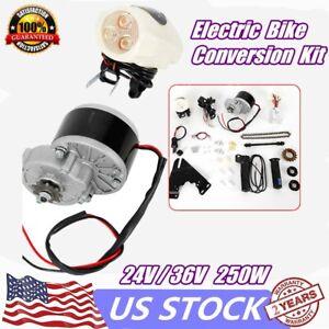 24V-36V-250W-Electric-Bike-Conversion-Kit-E-Bike-Motor-Controller-For-22-29-034-New