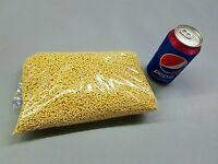 2 Lbs Yellow Abs Plastic Pellets, Acetone/mek Slurry Use In Cat Genie Bean Toss