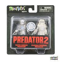 Predator Minimates Tru Toys R Us Wave 3 Water Emerge Predator & Cloaked Warrior