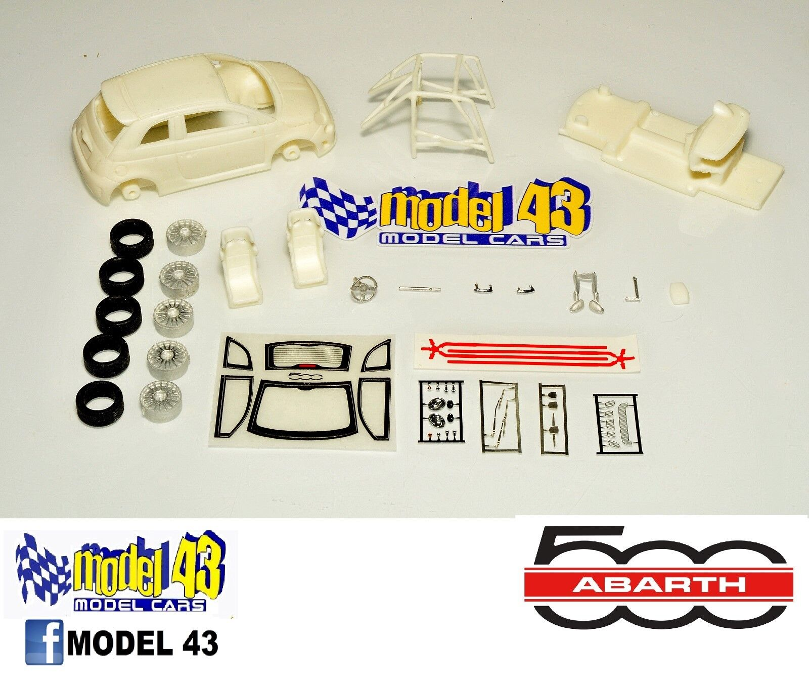 Fiat 500 ABARTH - ASSEMBLY KIT