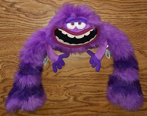 Disney Pixar Monsters University Inc Art Purple Monster Stuffed Animal Plush Toy Ebay