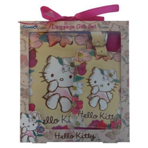 b26c81d1b Hello Kitty Passport Cover & Luggage Tag Gift Set - Vintage Style for sale  online | eBay