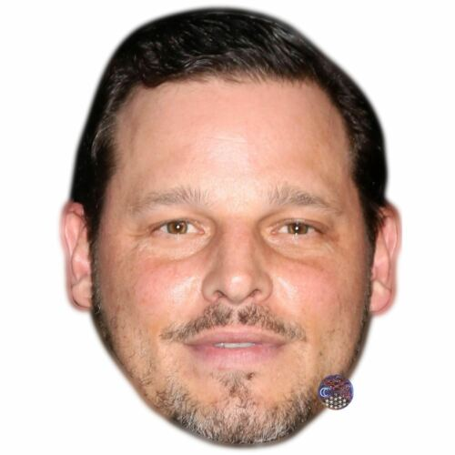 Justin Chambers Celebrity Mask Card Face and Fancy Dress Mask