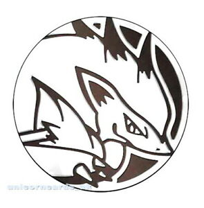 Official Pokemon Coin From Shining Legends Special Co Pokemon Zoroark GX Coin