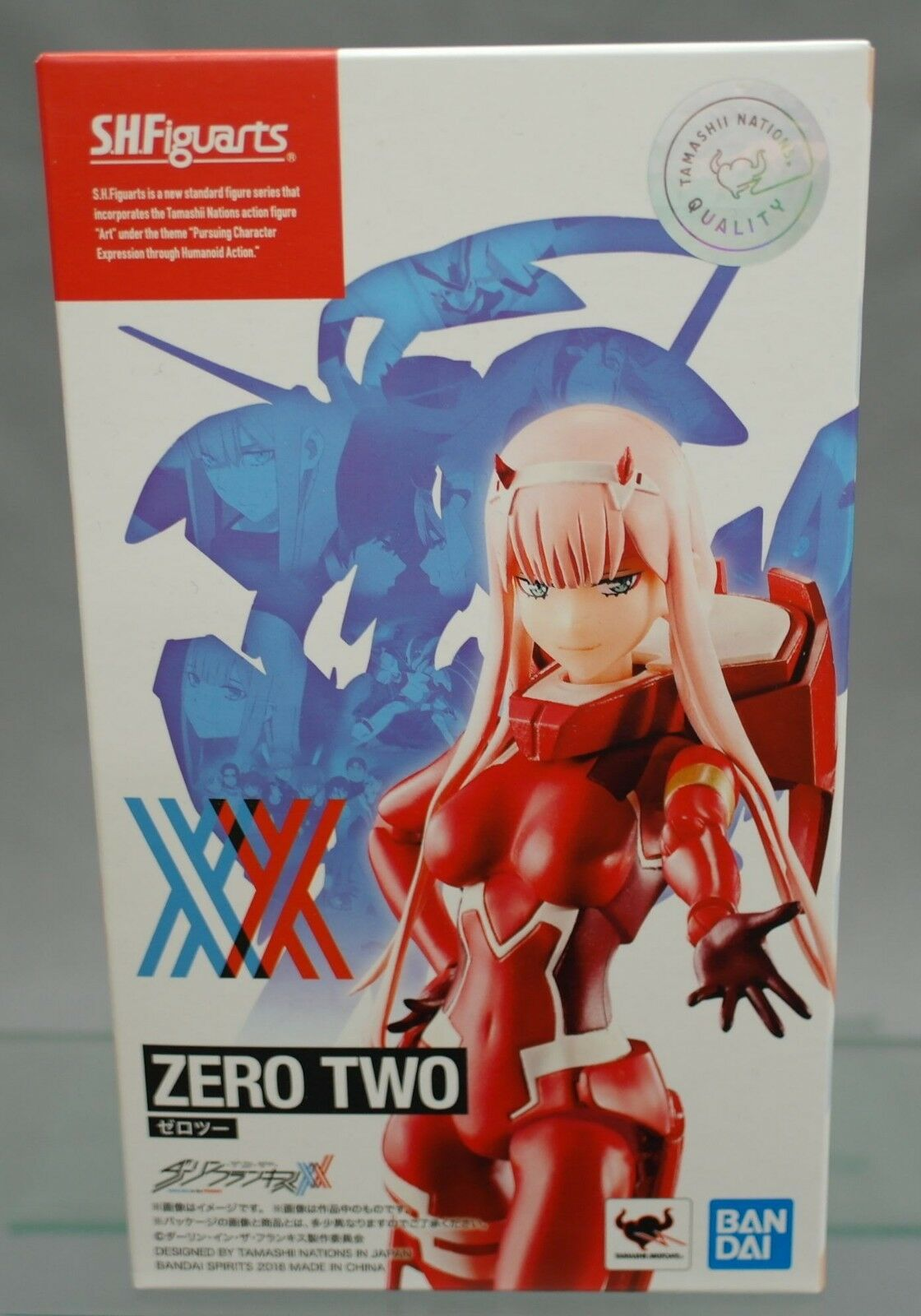 SH S.H. Figuarts Zero Two DARLING in the FRANXX Bandai NEW JAPAN