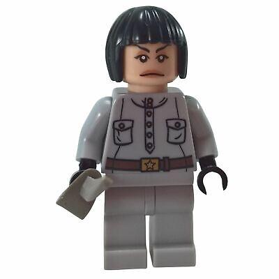 New Genuine LEGO Irina Spalko Minifig Indiana Jones 7627 7628