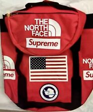 Supreme X NorthFace SS17 BIG HAUL BACKPACK RED