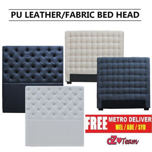 New Fabric Or Pu Leather Bedhead Bed Head Headboard Double Queen