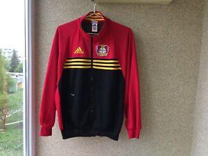 Dettagli su BAYER 04 Leverkusen Adidas S tuta da ginnastica Vintage 1998/2000 Calcio Germania- mostra il titolo originale