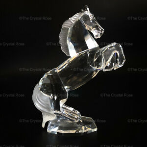 RARE-Retired-Swarovski-Crystal-White-Stallion-174958-Mint-Boxed-Horse