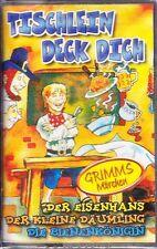 MC Grimms Märchen - Tischlein deck dich / Der Eisenhans - Junior - NEU/OVP