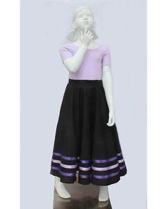 Ellis Bella RAD character skirt for ballet size K6 to K12 Burgundy ribbon