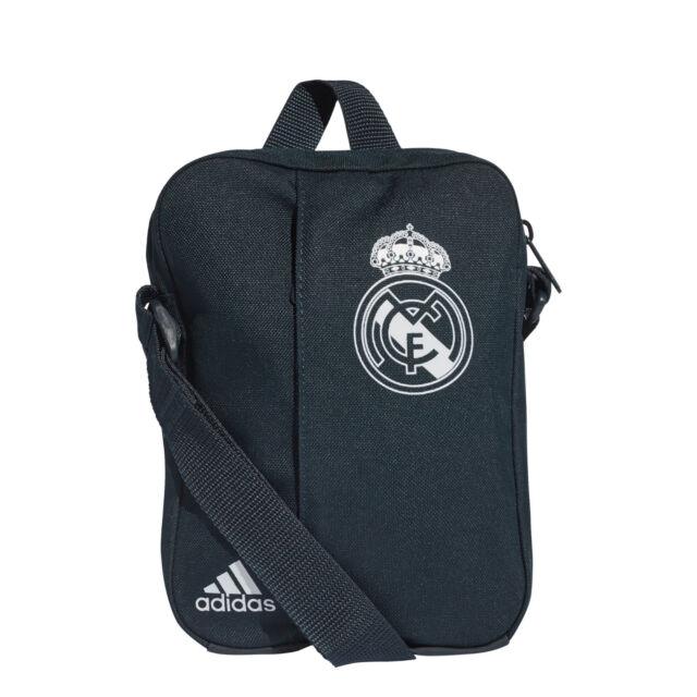 f801f98039d Adidas Shoulder Bag Linear Organizer Real Madrid Fashion Gym Training New  CY5613