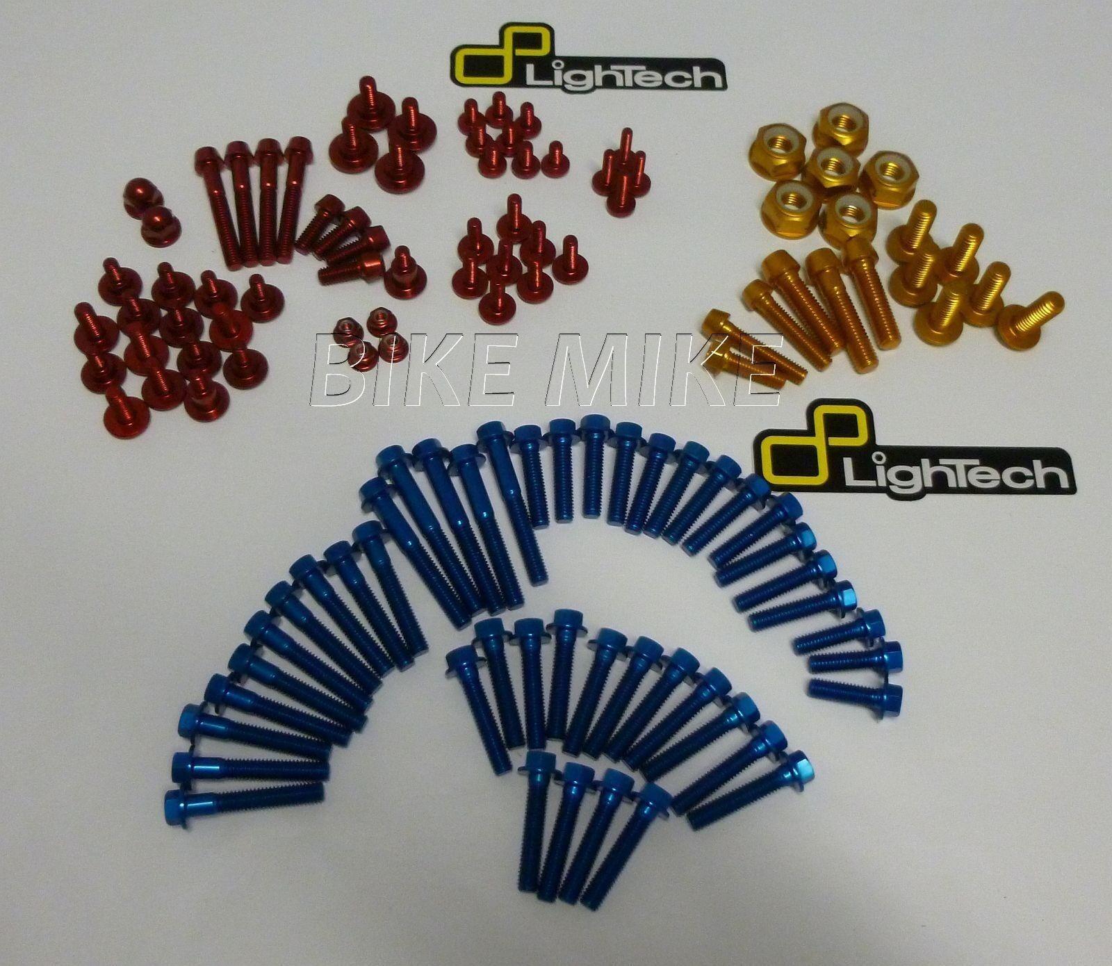 Schrauben Motor Rahmen Verkleidung gold blau rot SUZUKI GSXR 600 750 11-13