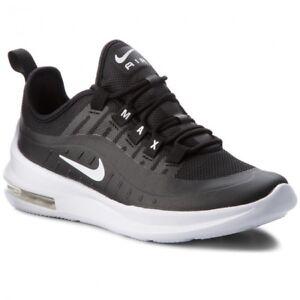 Dettagli su Scarpe da Ragazzo Nike Air Max Axis (GS) AH5222 001 Nero Sneakers Sportiva Nuovo