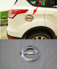 Fuel Oil Tank Gas Cap Cover Trim Decoration for 2013-2017 Ford Escape Kuga