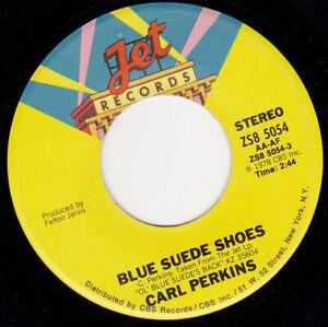 CARL-PERKINS-Blue-Suede-Shoes-7-034-45