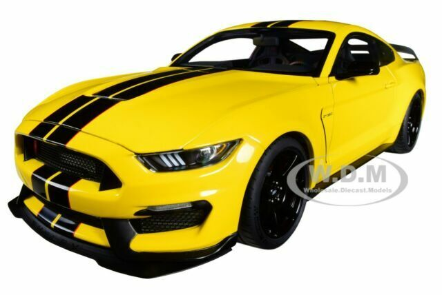 Autoart 72932-1//18 Ford Mustang Shelby gt350r-Triple YELLOW-NUOVO