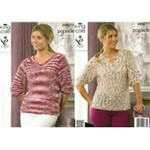 KING-COLE-POPSICLE-COTTON-MIX-DOUBLE-KNITTING-PATTERN-3890