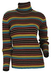 Laine Portray Vierge Pull Multicolore Tricoté Femmes 38 Berlin Gr qAwUS6