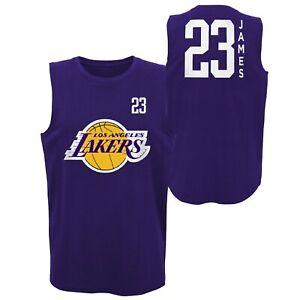 NBA Jersey Los Angeles Lakers Lebron James All Net Basic Tank ...