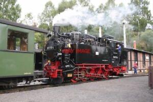 PHOTO-GERMANY-JOHSTADT-PREsNITZTALBAHN-RAILWAY-0-10-0T-NO-99-1715-4