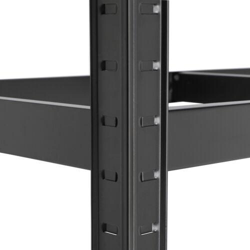 2X 180cm 5-Tier Heavy Duty Metal Garage Shelving Unit Storage Shelves Shed Rack