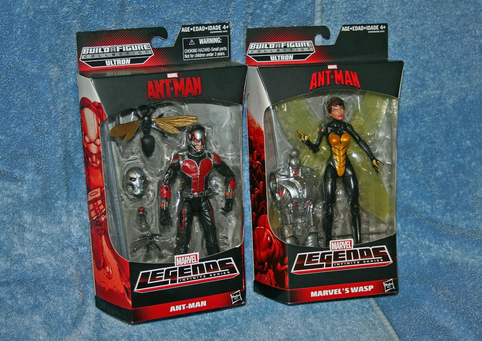 "New 6/"" Inifinite Series Action  Figure Loose Black Red  Ant-Man Toy"