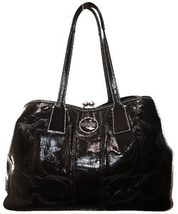 how to clean patent leather coach purse