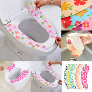 Cool Details About Bathroom Self Adhesive Warmer Toilet Seat Closestool Seat Cover Pad Cushion Ert Theyellowbook Wood Chair Design Ideas Theyellowbookinfo