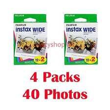 Fujifilm Instax WIDE Film 40 Fotos Película fotográfica instantánea 210 300
