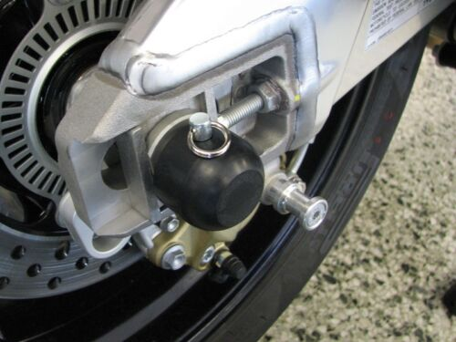 APRILIA 2006-2010 TUONO 1000R WOODCRAFT RACING REAR AXLE SLIDER KIT