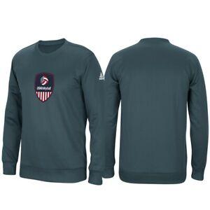 Team-USA-Volleyball-Adidas-Mens-Grey-ClimaWarm-Tech-Fleece-Crew