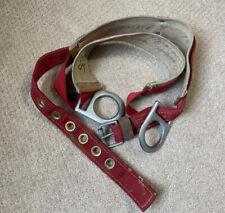 Sky Genie Linemans Pole Climbing Belt Harness Descent Control Inc Vintage