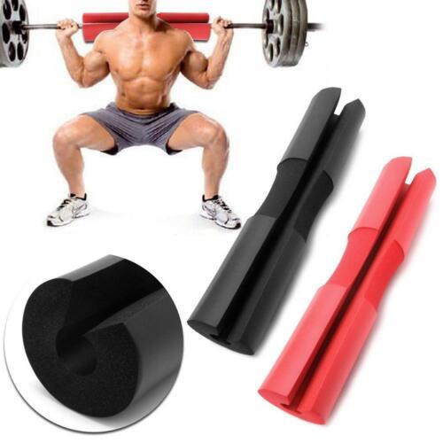 Barbell Pad Squat Sponge Gym Schulterstütze Fitness Gewichtheben Schutz Neu