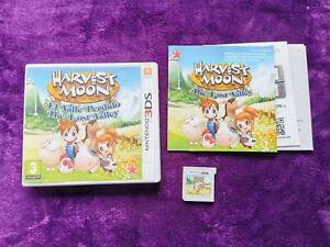 HARVEST MOON EL VALLE PERDIDO 3Ds COMPLETO PAL España ESP Nintendo