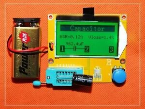 ESR-Meter-12864-LCD-Transistor-Tester-Diode-Triode-Capacitance-MOS-PNP-NPN-20