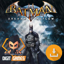 Batman Arkham Asylum Game of the Year - Steam / PC Game - New / GOTY Edition