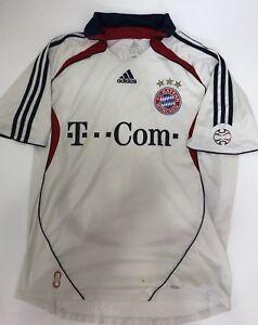 Adidas-FC-Bayern-Bayern-Monaco-Maglia-Calcio-Taglia-L-Anni-2000