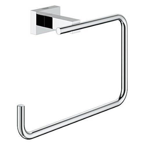Grohe Essentials Cube Chrome Anneau de serviette en 40510001 Brand New in Box