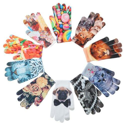 3D Animal Print Garden Gloves For Women Men Kids Pack Home Garden Gloves FG