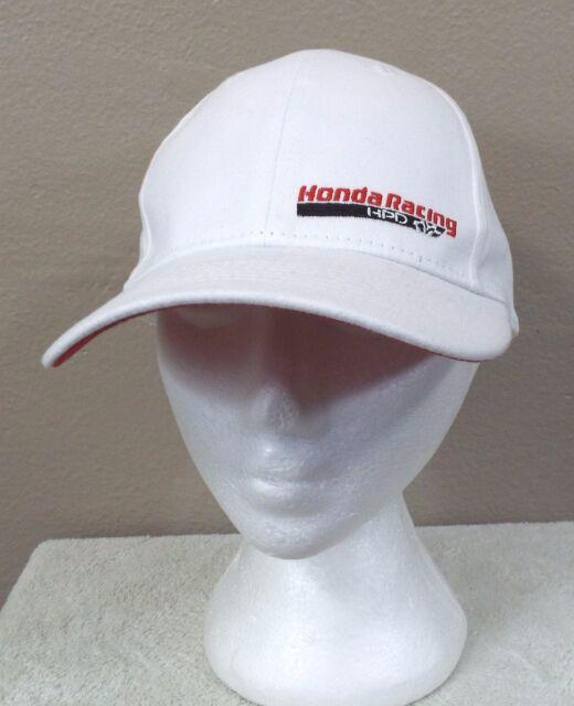 Honda Racing HPD Hat Cap L / XL Stretch Fit White Performance Development