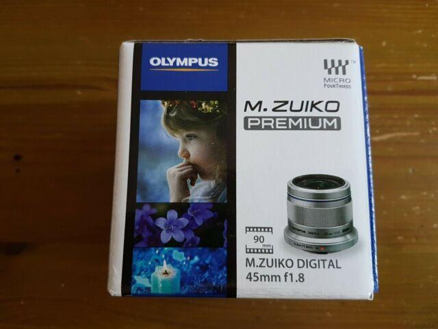 OlympusM.Zuiko 45mm f/1.8 Digital Lens
