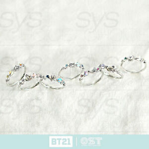 BTS-BT21-Official-Authentic-Goods-Silver-Ring-Ver2-by-OST-Tracking-Number